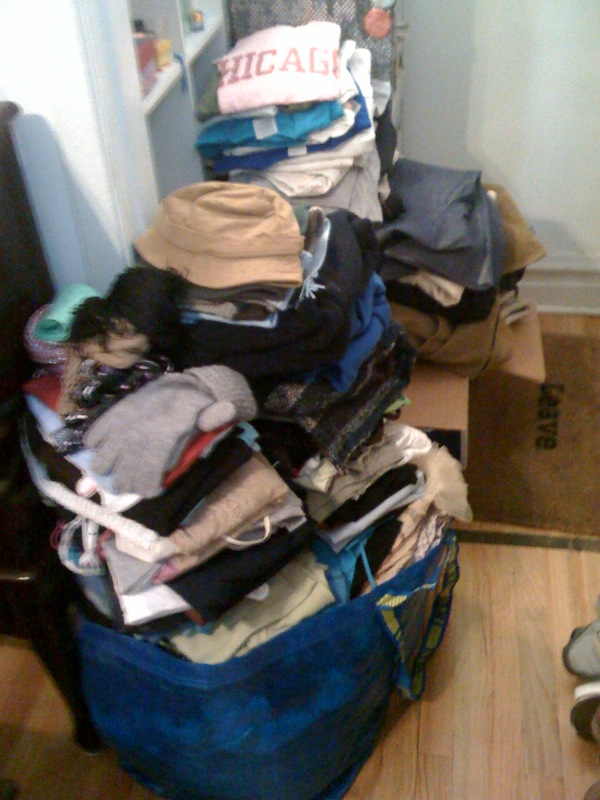 Completed #13–Clean Out My Closet. Don't Immediately Fill it Back Up.