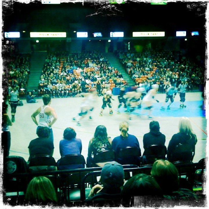 Completed #30 — Go to the Roller Derby