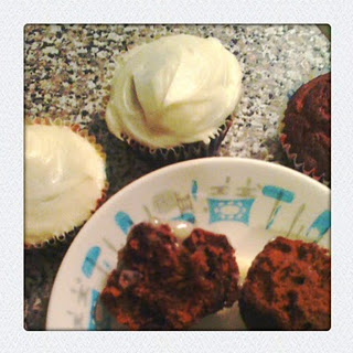 Recipe :: Chocolate Carrot and Beet Cupcakes (or Muffins)
