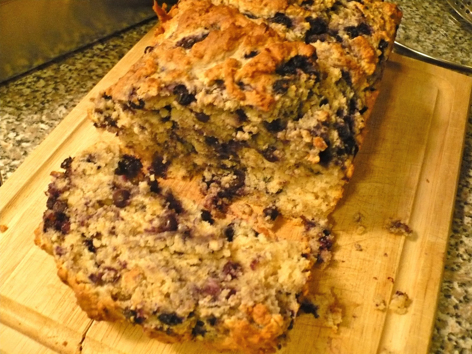 Recipe :: Ginger Blueberry Bread
