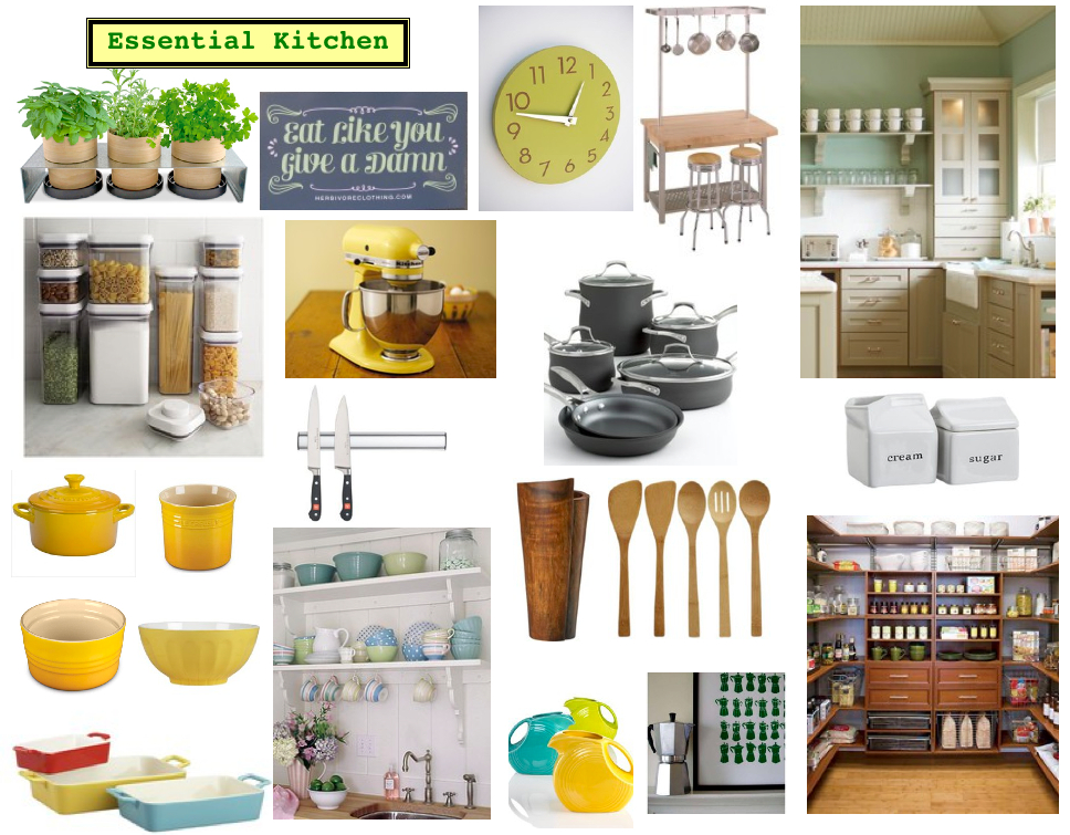 Mood Board Monday :: Our Kitchen