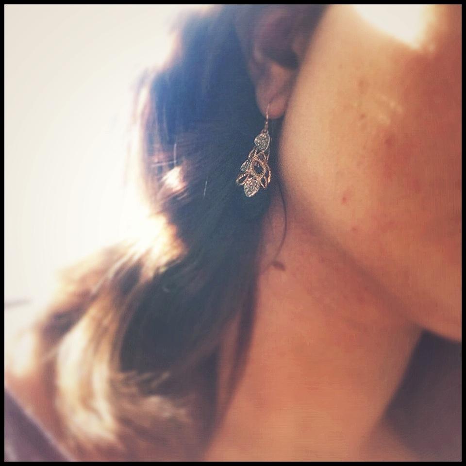 Alexis Bittar Siyabona Gold Garnet Earrings