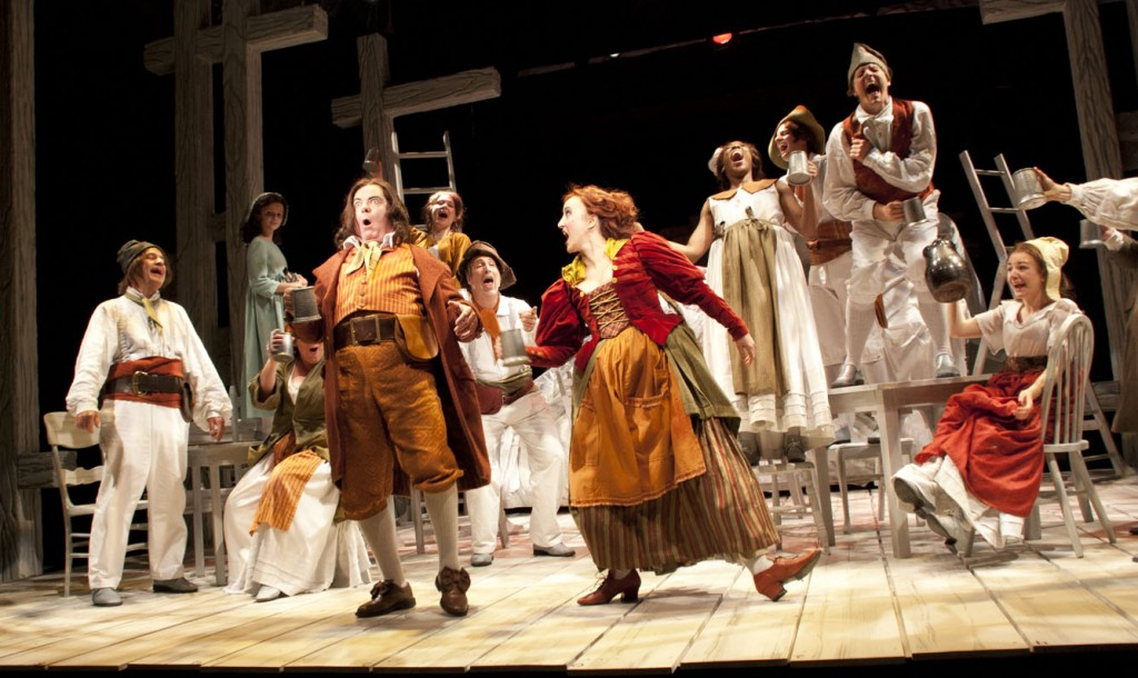 Erin as Madame Thénardier in Les Mis (photo credit: Barter Theatre)