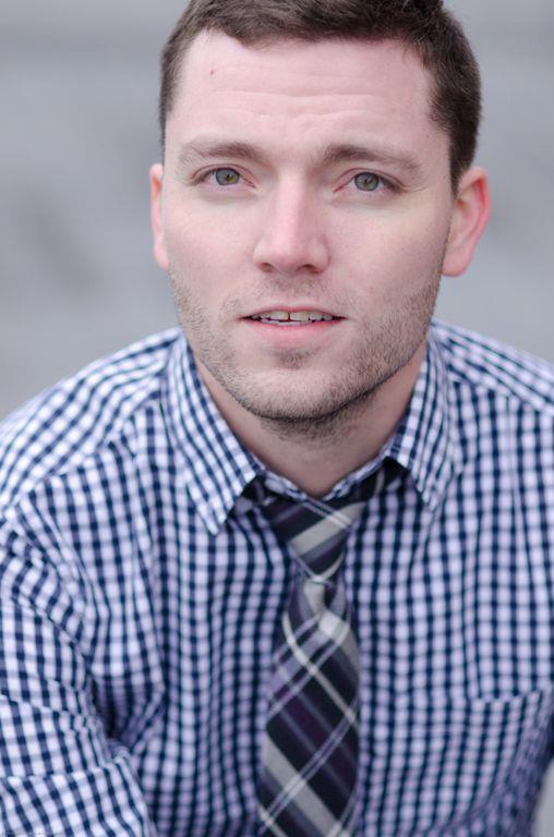 Evan Linder; headshot by Ryan Bourque