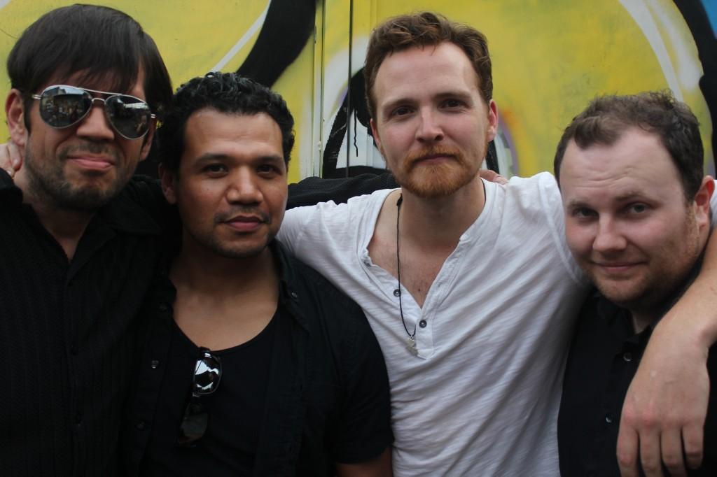 L-R: John Salgado Jr, Tony Sancho, Levi Petree, Sean Novak.   photo credit: Calliope Porter