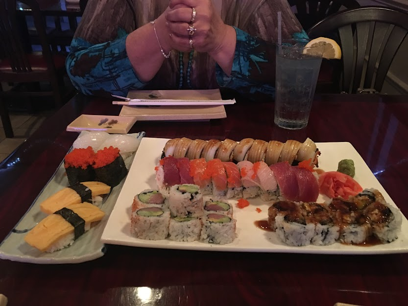Sushi with Mama